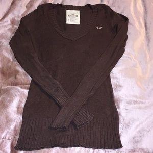 ⚠️ Hollister brown sweater